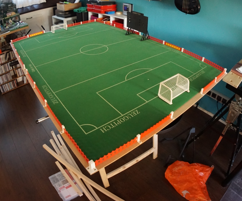 how to build a subbuteo table